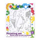 Kreativ Krea Painting Set Ice Cream