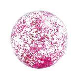 Intex Transparant Pink Glitter Beach Ball