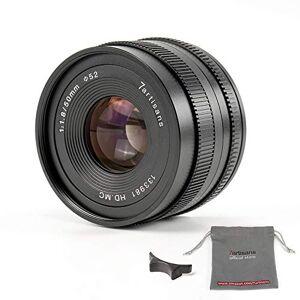 7artisans 50mm F1.8 7artisans 50 mm F1.8 APS-C manuellt fixobjektiv för Sony E-Mount spegelfri kamera som Sony A6500 A6300 A6000 A5100 A5000 NEX-3 NEX-3N NEX-3R NEX-3 NEX-C3 NEX-F3K NEX-500