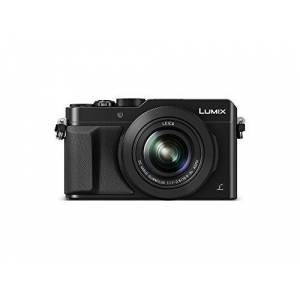 DMC-LX100EGK Panasonic LUMIX  Premium digitalkamera (12,8 megapixel, 24–75 mm Leica DC Vario Summilux objektiv, 4K, elektr. Sökare) svart
