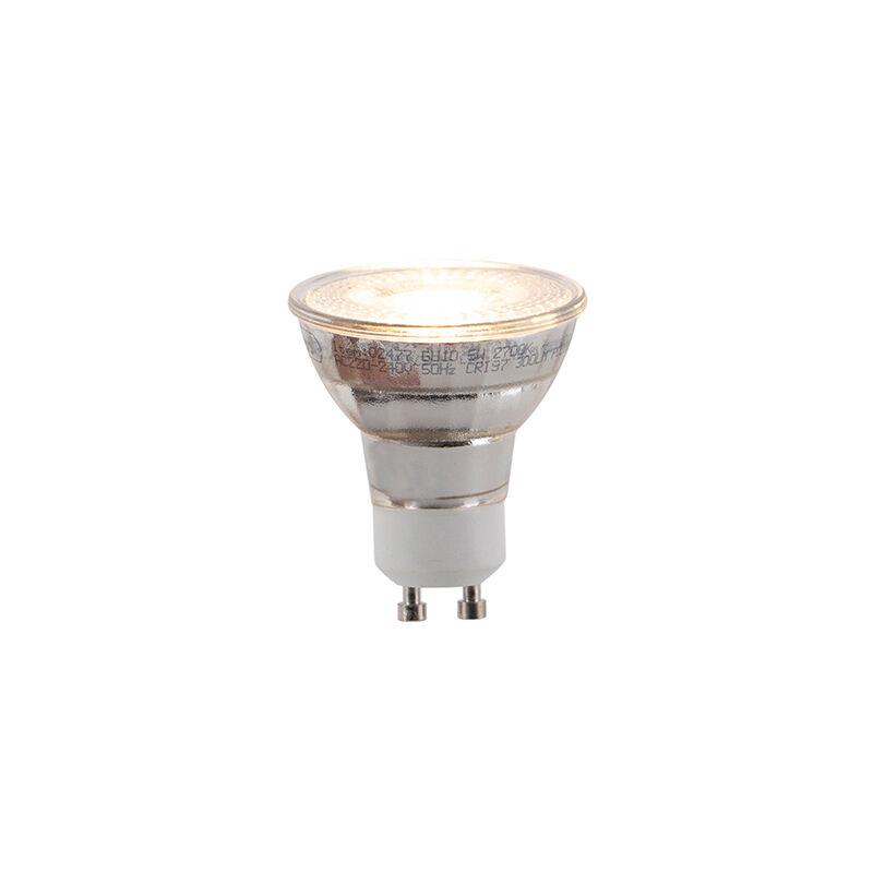LUEDD Uppsättning av 5 GU10 3-stegs dimbara LED-lampor 5W 300lm