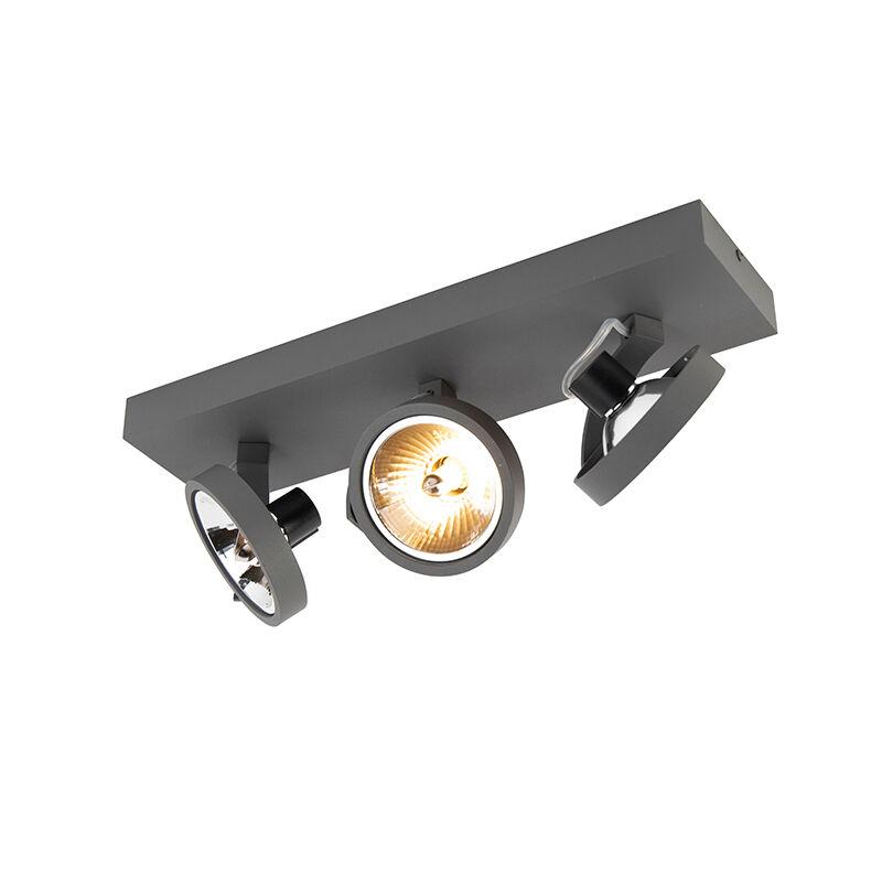 QAZQA Designljusjusterbar 3-ljus inkl LED - Go