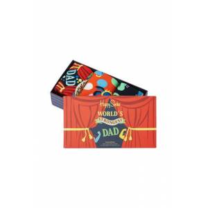 Happy Socks Strumpor 3-Pack Father´s Day Socks Gift Set