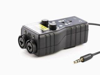 Saramonic SmartRig+ two channel XLR audio adapter