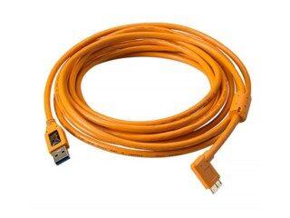 Tether Tools USB 3.0 Hane till Micro-B 5 pin 4,6m vinklad