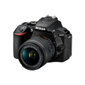 Nikon D5600 svart + AF-P 18-55/3,5-5,6G VR DX