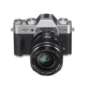 Fujifilm X-T20 silver + AF 18-55/2,8-4,0 R XF LM OIS