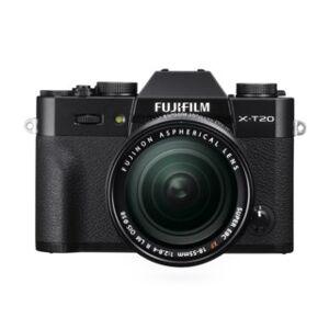 Fujifilm X-T20 svart + AF 18-55/2,8-4,0 R XF LM OIS