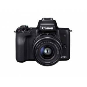 Canon EOS M50 svart + EF-M 15-45mm f/3,5-6,3 IS STM