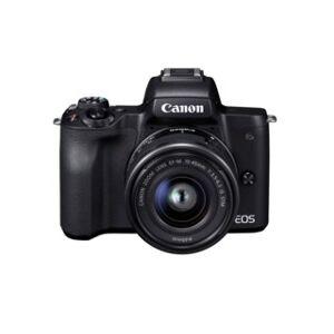 Canon EOS M50 svart + EF-M 15-45mm f/3,5-6,3 IS STM