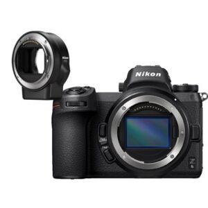 Nikon Z6 Kamerahus med FTZ Adapter