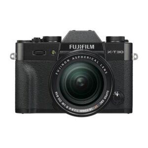 Fujifilm X-T30 svart + AF 18-55mm f/2,8-4,0 R XF LM OIS