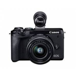 Canon EOS M6 MKII EF-M 15-45mm IS STM + EVF DC-2 (använd)