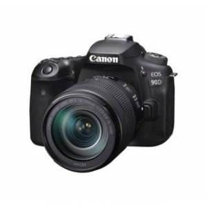 Canon EOS 90D med EF-S 18-135/3,5-5,6 IS USM