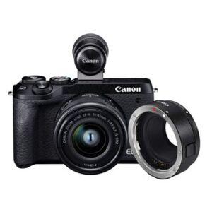 Canon EOS M6 MKII EF-M 15-45mm IS STM + EVF DC-2 + EF-Adapter bundling