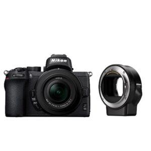 Nikon Z50 +16-50mm f/3,5-6,3 + FTZ adapter
