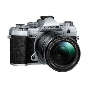 Olympus OM-D E-M5 Mark III silver + AF 14-150/4,0-5,6 II ED Zuiko Digital svart
