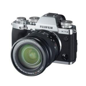 Fujifilm X-T3 +Fujinon XF 16-80mm f/4 R OIS WR svart