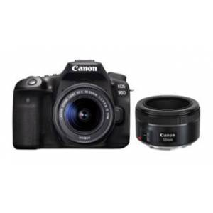 Canon EOS 90D EF-S 18-55mm f/3,5-5,6 IS STM + EF 50mm f/1,8 STM