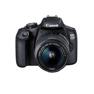 Canon EOS 2000D svart + EF-S 18-55mm f/3,5-5,6 IS II