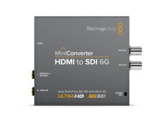 Blackmagic Design Mini konverter - HDMI till SDI 6G