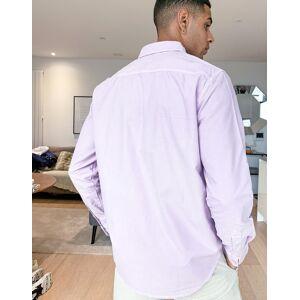 Levis Levi's – Sunset – Lila oxfordskjorta med 1 ficka och normal passform