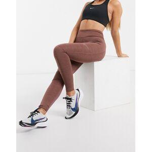 Nike Running – Fast – Malvafärgade leggings-Lila