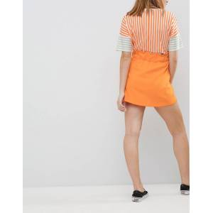 Noisy May Petite – Minikjol med fickor-Orange