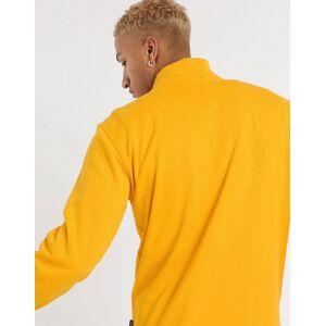 Vans – Gul blockfärgad fleece med halv dragkedja, endast hos ASOS-Koppar