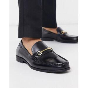Ben Sherman – Svarta loafers i läder