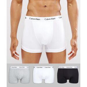 Calvin Klein – Kalsonger i bomullsstretch i 3-pack-Flerfärgad