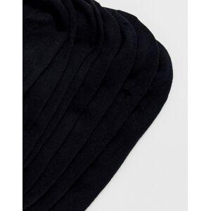 Jack & Jones – Svarta dolda strumpor i 5-pack No Size