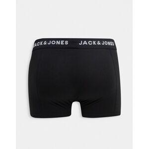 Jack & Jones - Svarta, marinblå och grå trunks i 7-pack-Flerfärgad