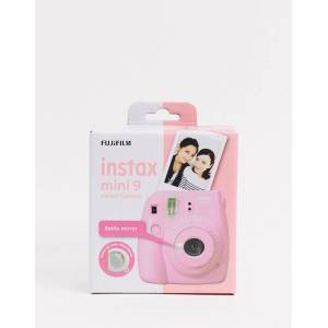 Fujifilm Instax – Mini 9 – Puderrosa kamera-Ingen färg