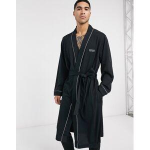 BOSS – Bodywear – Svart morgonrock