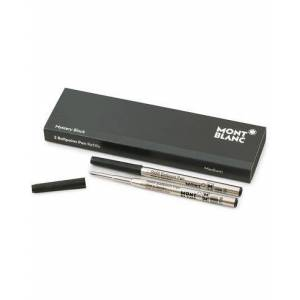 Montblanc 2 Ballpoint Pen Refill Mystery Black