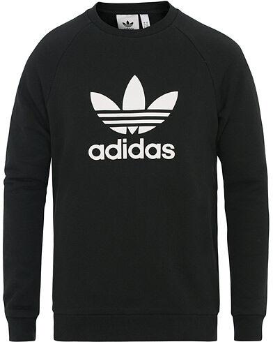 adidas Originals Trefoil Logo Crew Neck Sweatshirt Black