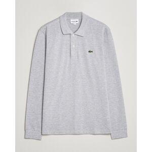 Lacoste Long Sleeve Original Polo Grey