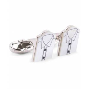 Paul Smith Mother of Pearl Shirt Cufflink Copper