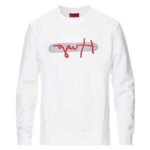 HUGO Dicago Logo Sweatshirt White