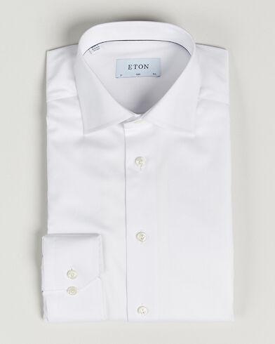 Eton Slim Fit Shirt White
