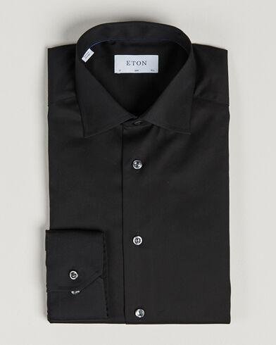 Eton Slim Fit Shirt Black