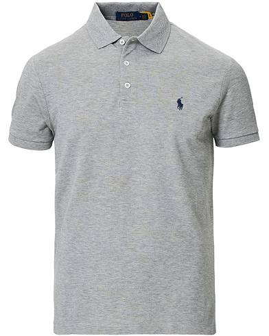 Polo Ralph Lauren Slim Fit Stretch Polo Andover Heather
