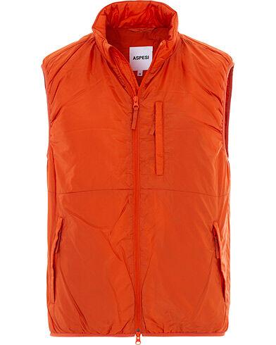 Aspesi Nylon Inner Vest Orange