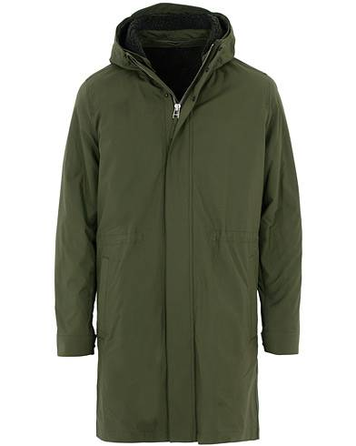 Norse Projects Elias Cambric Cotton Parka Ivy Green