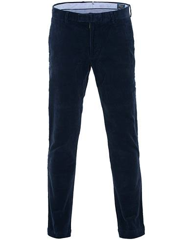 Polo Ralph Lauren Hudson Slim Fit Corduroy Trousers Cruise Navy