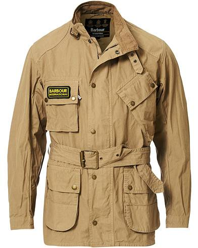 Barbour International Summer Wash A7 Casual Jacket Stone Grey