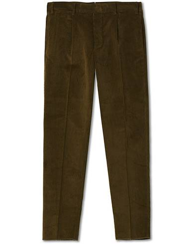 The Gigi Tonga Corduroy Trousers Moss