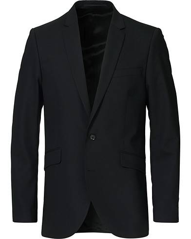 Tiger of Sweden James Wool Suit Blazer Black