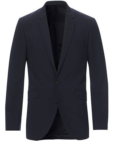 Tiger of Sweden James Wool Suit Blazer Blue